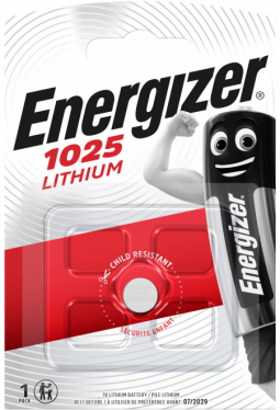 Energizer Knopfzelle CR 1025