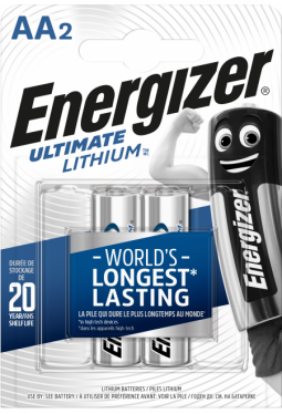 Energizer Ultimate Lithium L91, LR6, AA