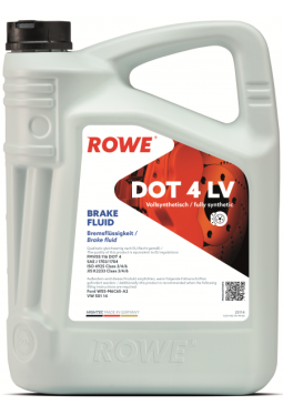 HIGHTEC BRAKE FLUID DOT 4 LV 5 Liter